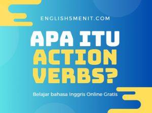 apa itu action verbs